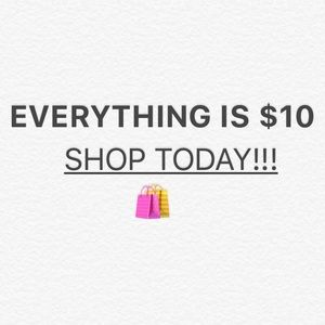 Shoes - ONE MORE DAY!SELLING EVERYTHING FOR $10 UNTIL 8/23
